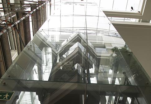 Limpieza de estructuras y fachadas (trabajo en alturas)