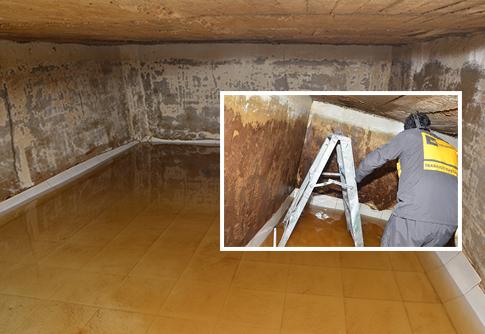 Limpieza y desinfección de tanques de agua potable